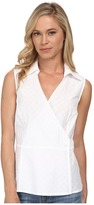 Pendleton Petite Sleeveless Wrap Shirt