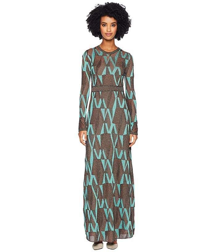 M Missoni Geo Lurex Maxi Dress