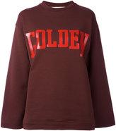 Golden Goose Deluxe Brand raw cut sweatshirt