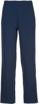 Natori Crepe Straight Trousers