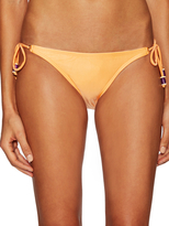 Vix Paula Hermanny Solid Long Tie Full Bikini Bottom