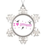 Xixitly Tree Branch Decoration Badge - small Badge Customized Christmas Snowflake Ornaments