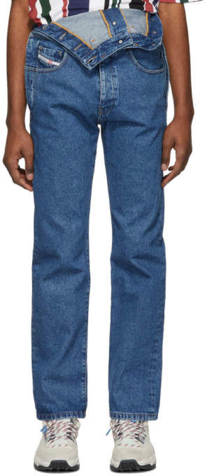 39afd190 Mens Diesel Stretch Jeans Straight - ShopStyle