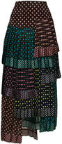 Zimmermann spotted layered skirt