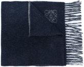 Loewe fringed scarf