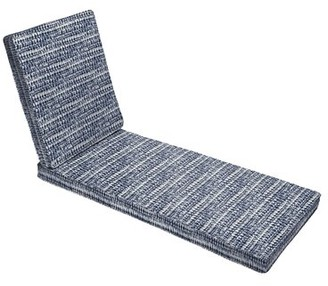 """Longshore Tides Hinged Single Corded Indoor/Outdoor Chaise Lounge Cushion Size: 79"""" H x 25"""" W x 3"""" D"""