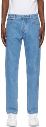 Ami Alexandre Mattiussi Blue Straight Fit Jeans