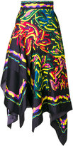 Peter Pilotto Silk Twill Scarf skirt