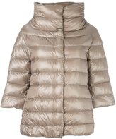 Herno cropped sleeve padded jacket