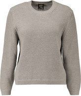 McQ by Alexander McQueen Ribbed-knit wool sweater