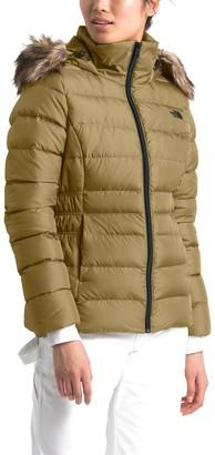 The North Face Gotham II Faux Fur Hood Jacket