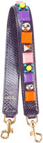 Dolce & Gabbana embellished strap - women - Leather/plastic/glass - One Size