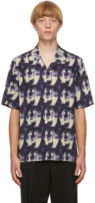 Paul Smith Purple Homer Short Sleeve Shirt