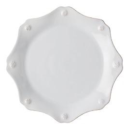 Juliska Berry & Thread Twilight Grey Scalloped Dessert/Salad Plate - 100% Exclusive