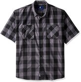 Rocawear Men's Big and Tall Poppa Short Sleeve Shirt