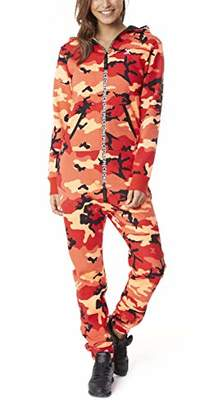 One Piece OnePiece Women's's Unisex Jumpsuit Logo Camo Red