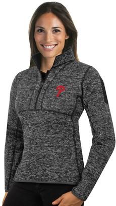 Antigua Women's Philadelphia Phillies Fortune Midweight Pullover Sweater