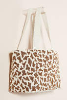 Moyna Beaded Giraffe Tote Bag