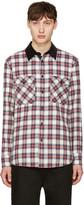 Rag & Bone Blue & Red Plaid Jack Shirt