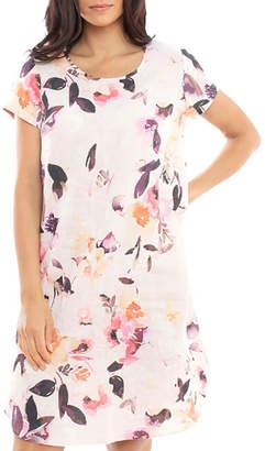 Jump Watercolour Linen Dress
