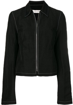 Wales Bonner Classic Collar Zipped Jacket