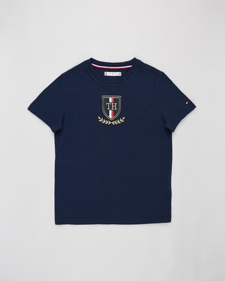 Tommy Hilfiger Crest Short Sleeve Tee - Teens