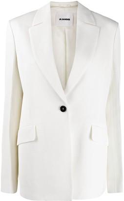 Jil Sander single-breasted blazer