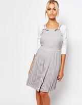 Fashion Union Pleated Skirt Dress