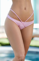 KENDALL + KYLIE Kendall & Kylie Harness Strap Cheeky Bikini Bottom