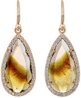 Irene Neuwirth Women's Pear-Shaped Drop Earrings
