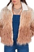 Volcom 'Furrankie' Faux Fur Jacket