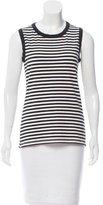 Kate Spade Striped Sleeveless Top