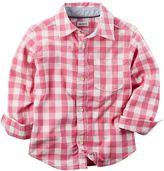 Carter's Baby Boy Woven Button-Down shirt