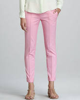 Theory Marsienna T Silk Trousers