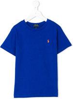 Ralph Lauren logo T-shirt - kids - Cotton - 2 yrs