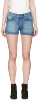 Alexachung Blue Denim Hot Pants
