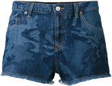 Vivienne Westwood printed denim shorts - women - Cotton - 27