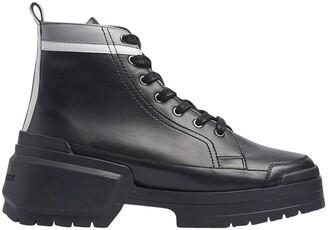 Pierre Hardy rangers ankle boots multi black