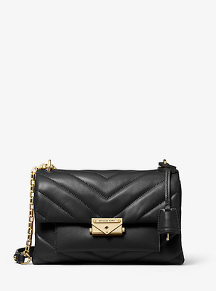 MICHAEL Michael Kors Cece Medium Quilted Leather Convertible Shoulder Bag