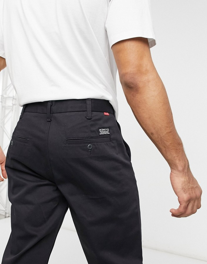 Thumbnail for your product : Levis Skateboarding Levi's Skateboarding twill work trousers in black