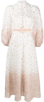 Zimmermann Carnaby ditsy-floral print dress