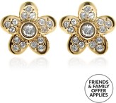 Marc Jacobs Coin Flower Stud