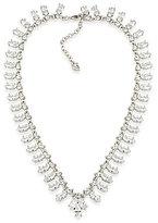 Carolee Marquee Cubic Zirconia Collar Necklace
