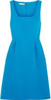 Michael Kors Crepe Mini Dress - Blue