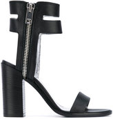 Diesel block heel sandals - women - Calf Leather/Leather - 36
