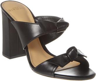 Alexandre Birman Nolita 90 Leather Sandal