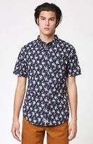 rhythm Albatross Floral Short Sleeve Button Up Shirt