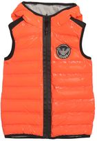 Armani Junior Reversible Nylon & Cotton Interlock Vest