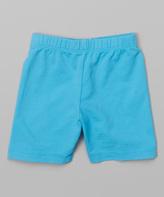 Flap Happy Bay Blue Bike Shorts - Toddler & Boys