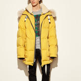 Coach Toy Soldier Down Parka